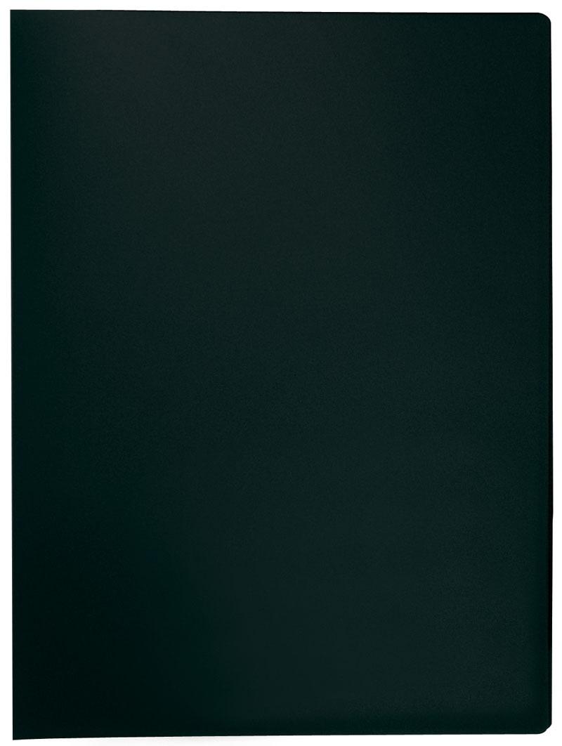 Teczka ofertowa Q-CONNECT, PP, A4, 380mikr., 10 koszulek, czarna, Teczki ofertowe, Archiwizacja dokumentów