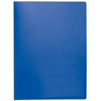 Display Book Q-CONNECT, PP, A4, 380 micron, 20 pockets, blue