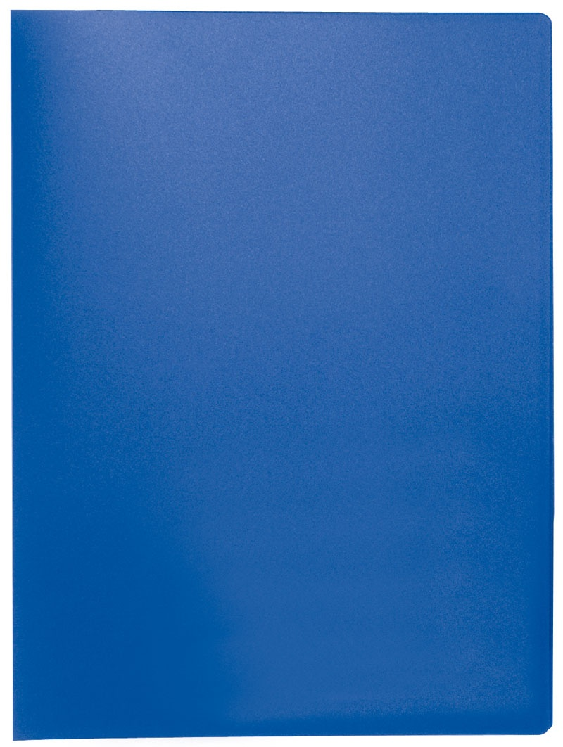 Teczka ofertowa Q-CONNECT, PP, A4, 380mikr., 20 koszulek, niebieska, Teczki ofertowe, Archiwizacja dokumentów