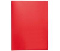 Teczka ofertowa Q-CONNECT, PP, A4, 380mikr., 20 koszulek, czerwona, Teczki ofertowe, Archiwizacja dokumentów