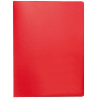 Display Book Q-CONNECT, PP, A4, 380 micron, 20 pockets, red