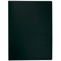 Display Book Q-CONNECT, PP, A4, 380 micron, 20 pockets, black