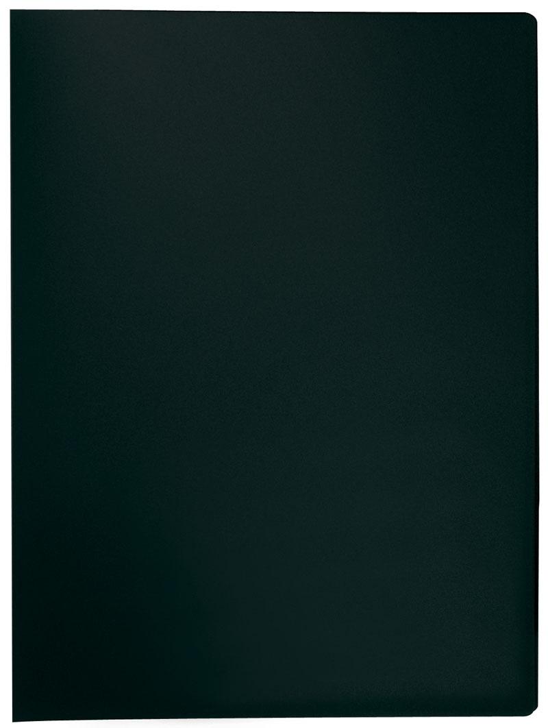 Teczka ofertowa Q-CONNECT, PP, A4, 380mikr., 20 koszulek, czarna, Teczki ofertowe, Archiwizacja dokumentów