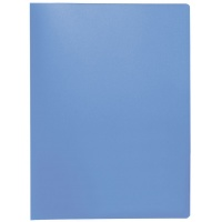 Display Book Q-CONNECT, PP, A4, 380 micron, 20 pockets, transparent blue