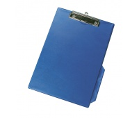 Clipboard Q-CONNECT Board, with a clip, PVC, A4, blue