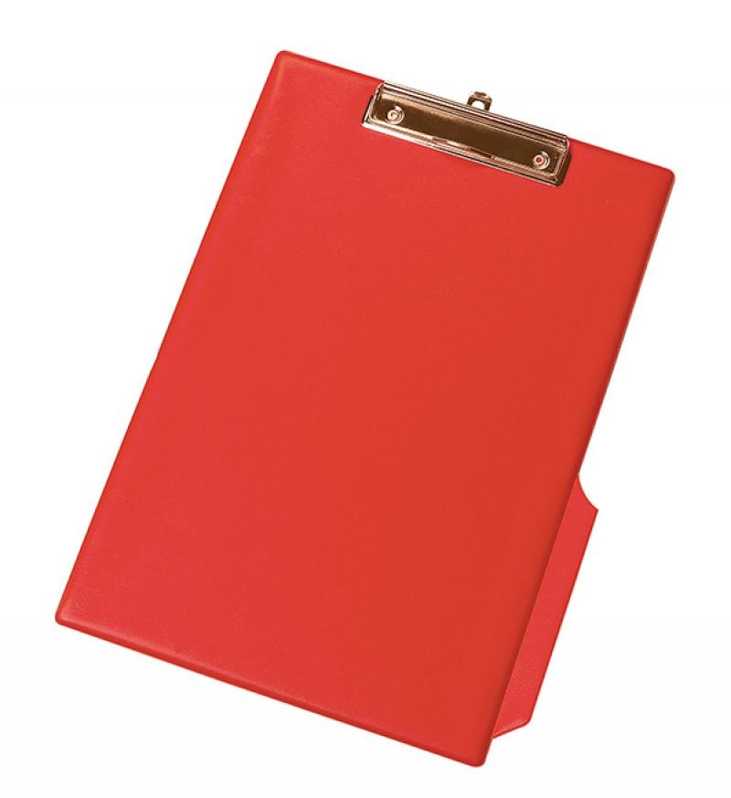 Clipboard Q-CONNECT deska, z klipsem, PVC, A4 czerwony, Clipboardy, Archiwizacja dokumentów