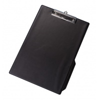 Clipboard Q-CONNECT Board, with a clip, PVC, A4, black