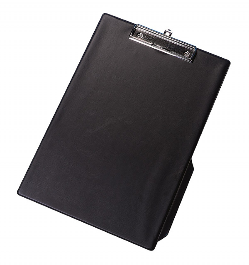 Clipboard Q-CONNECT deska, z klipsem, PVC, A4 czarny, Clipboardy, Archiwizacja dokumentów