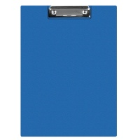 Clipboard Q-CONNECT File, PVC, A4, blue