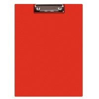 Clipboard Q-CONNECT File, PVC, A4, red