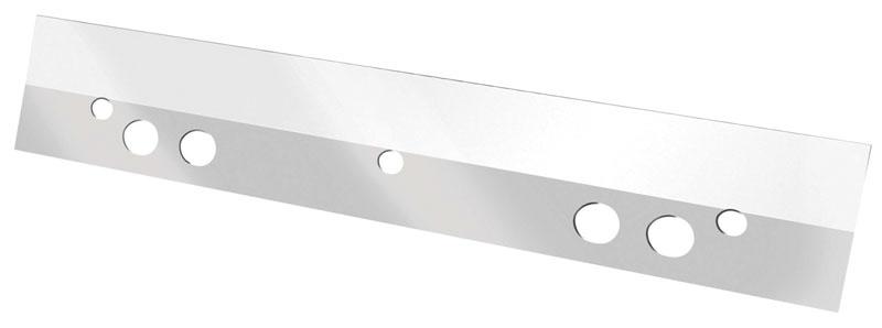 Listwa samoprzylepna Q-CONNECT, poliester, A5, 125mm, 50szt., transparentna