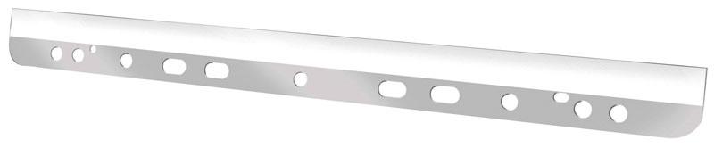 Listwa samoprzylepna Q-CONNECT, poliester, A4, 295mm, 50szt., transparentna