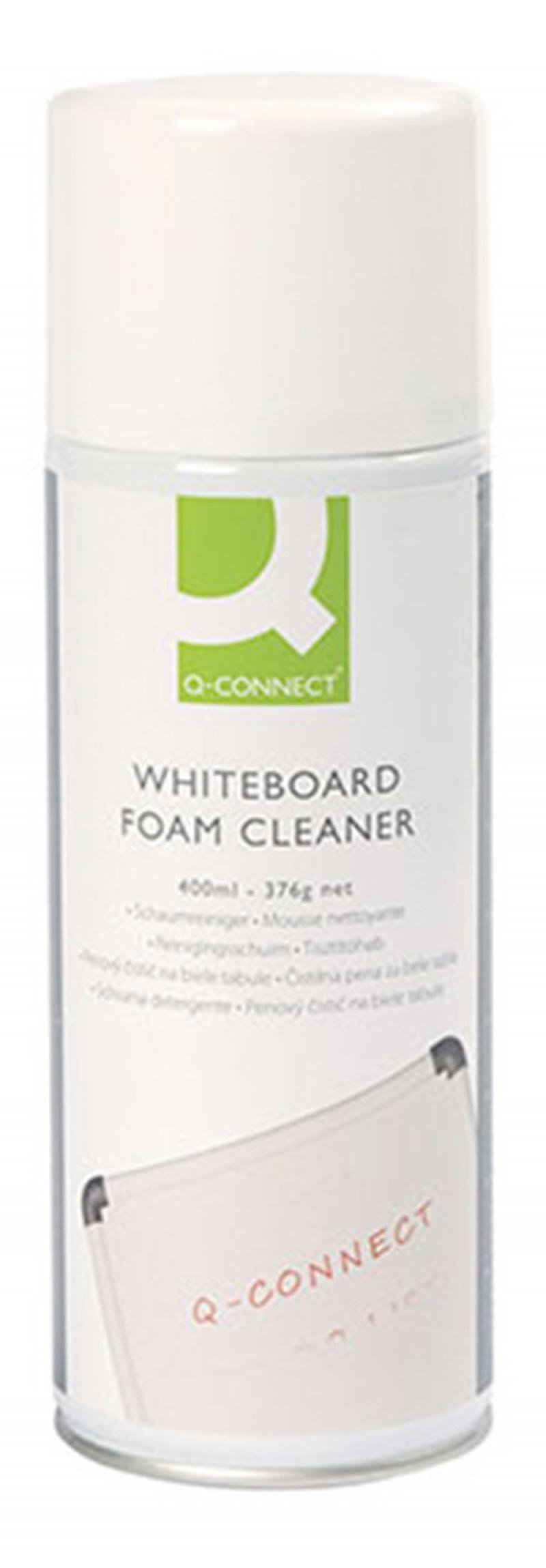 Pianka do plastiku i tablic Q-CONNECT, 400ml, Środki czyszczące, Akcesoria komputerowe