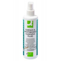 Spray do tablic suchościeralnych Q-CONNECT, 250ml, Bloki, magnesy, gąbki, spraye do tablic, Prezentacja