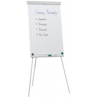Flipchart Tripod Easel Q-CONNECT, 68x105cm, Magnetic Dry-wipe Board