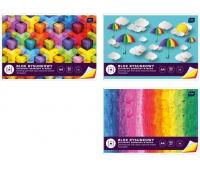 Blok rysunkowy kolorowy A4 10 barwiony w masie, Bloki, Artykuły szkolne