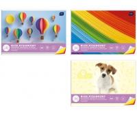 Blok rysunkowy kolorowy A4 20 barwiony w masie, Bloki, Artykuły szkolne