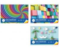 Blok techniczny kolorowy A4 10 barwiony w masie, Bloki, Artykuły szkolne