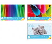 Blok techniczny kolorowy A4 20 barwiony w masie, Bloki, Artykuły szkolne