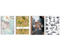 Kołobrulion A5 100 # z kolorowymi marginesami, Zeszyty, Artykuły szkolne