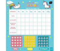 Tablica motywacyjna 320x340 z naklejkami girls, Produkty kreatywne, Artykuły szkolne
