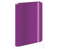Teczka z gumką twarda oprawa A4+ fioletowa (fluo), Teczki płaskie, Archiwizacja dokumentów