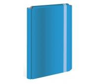 Teczka z gumką twarda oprawa A4+ niebieska (fluo), Teczki płaskie, Archiwizacja dokumentów