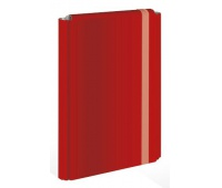 Teczka z gumką twarda oprawa A4+ czerwona, Teczki płaskie, Archiwizacja dokumentów