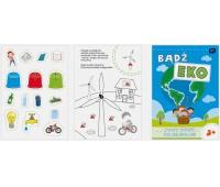 Kolorowanka Bądź Eko A4 16 z naklejkami, Kolorowanki, Zabawki