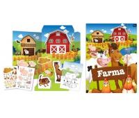 Teczka kreatywna A3 Farma, Produkty kreatywne, Zabawki