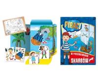 Teczka kreatywna A3 Piraci, Produkty kreatywne, Zabawki