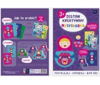 Zestaw kreatywny Matrioszka, Produkty kreatywne, Artykuły szkolne