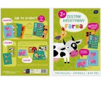 Zestaw kreatywny Farma, Produkty kreatywne, Artykuły szkolne