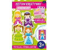 Zestaw kreatywny Księżniczki, Produkty kreatywne, Artykuły szkolne