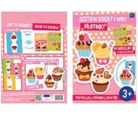 Zestaw kreatywny Muffinki, Produkty kreatywne, Artykuły szkolne