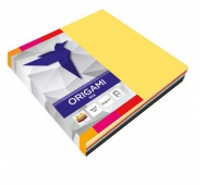 Origami 14x14cm fluo+pastele a'100, Produkty kreatywne, Artykuły szkolne