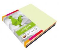 Origami 20x20cm fluo+pastele a'100, Produkty kreatywne, Artykuły szkolne