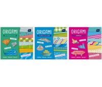 Książeczka 20x20 32 z naklejkami origami mix (3 tytuły), Produkty kreatywne, Artykuły szkolne