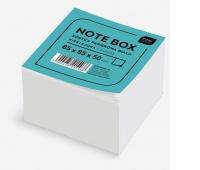Kostka papierowa biała 85x85x50 mm nieklejona, Kostki, Papier i etykiety