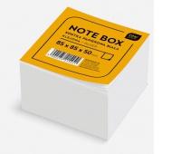 Kostka papierowa biała 85x85x50 mm, Kostki, Papier i etykiety