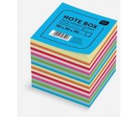 Kostka papierowa kolorowa 90x90x90mm paski, Kostki, Papier i etykiety