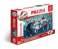Puzzle 160 elementów PZPN Reprezentacja Polski ze Szczęsnym, Puzzle, Zabawki