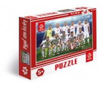 Puzzle 160 elementów PZPN Reprezentacja Polski z Fabiańskim, Puzzle, Zabawki