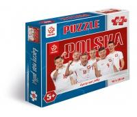 Puzzle 160 elementów PZPN Reprezentacja Polski z Krychowiakiem, Puzzle, Zabawki