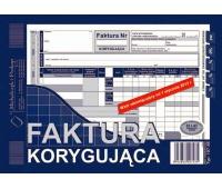 Faktura korygująca, Druki, Papier i etykiety