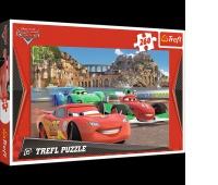 13123 260 - Auta w Porto Corso / Disney Cars 2, Puzzle, Zabawki