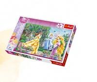 13141 260 - Spacer przed balem / Disney Princess, Puzzle, Zabawki