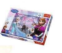 13195 260 - Miłość w Krainie Lodu / Disney Frozen, Puzzle, Zabawki