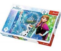 13207 200 - Moc sióstr / Disney Frozen, Puzzle, Zabawki