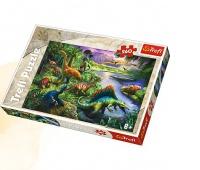 13214 260 - Dinozaury / Trefl, Puzzle, Zabawki